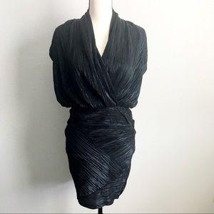 Rachel Rachel Roy Black/Blue Foil Party Dress